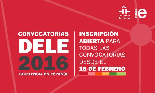 Escuela Mediterraneo Barcelona Spanish courses DELE 2016